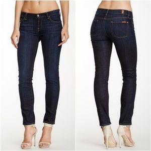 NWT 7 For All Mankind The Slim Cigarette Jeans 31